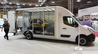 Renault Master Twizy in back
