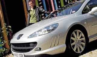 Peugeot 407 Coupé V6 HDi