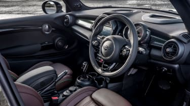 The new MINI actually followed hot on the heels of the old one, installing modern technology and more usable space beneath the classic retro lines.