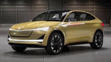 Skoda Concept E - front