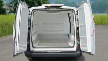 Mercedes Vito cargo area
