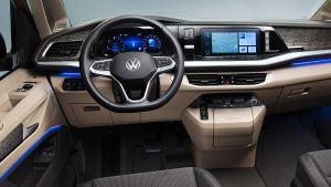 Volkswagen T7 Multivan - dash