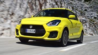 Suzuki Swift Sport - front action