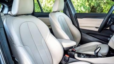 BMW X1 - front seats