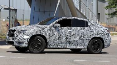 Mercedes GLE - spyshot 4