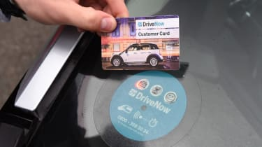 Ultimate guide to car sharing - DriveNow card