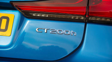 Lexus CT 200h - badge