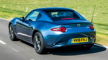 Mazda MX-5 RF Sport Black - rear