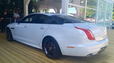 Jaguar XJ facelift at Goodwood - rear