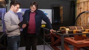 Grampian Transport Museum - James with Davidson