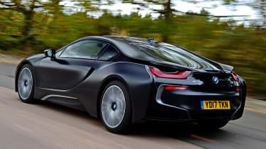 BMW i8 - rear