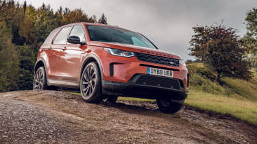 Land Rover Discovery Sport off-road front