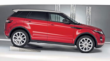 Best Compact SUV: Range Rover Evoque