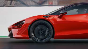McLaren Artura - side detail