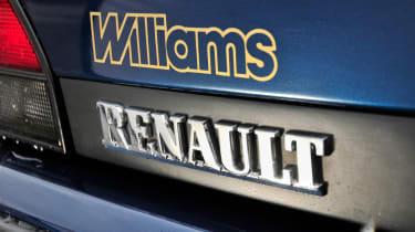 Clio Williams - badge