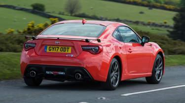 Toyota GT86 Orange Edition - rear
