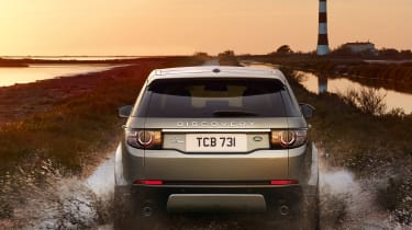 Land Rover Discovery Sport offroad rear