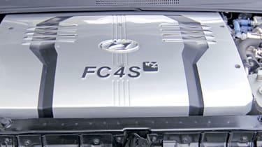 Hyundai Tucson FCEV engine