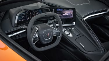 Chevrolet Corvette Convertible - interior