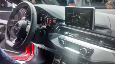 Audi A5 - official reveal interior