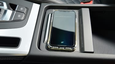 Audi Q5 PHEV long-termer - first report wireless charging