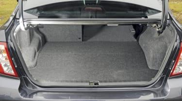 Subaru WRX STi boot
