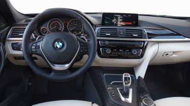 BMW 3 Series 2015 facelift - dash