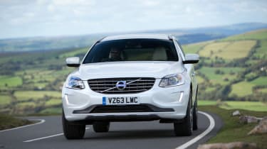 Volvo XC60 front tracking