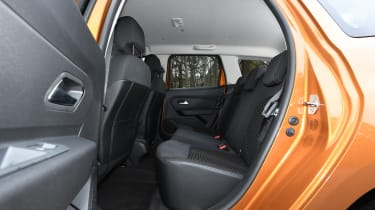 Dacia Duster: long term test review - rear seats