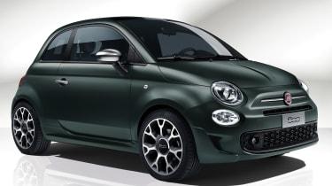 Fiat 500 Rockstar - front 3/4 static