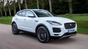 Jaguar E-Pace - front tracking