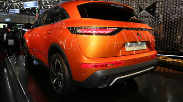 DS 7 Crossback Geneva show - rear