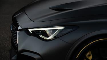 Infiniti Project Black S headlights