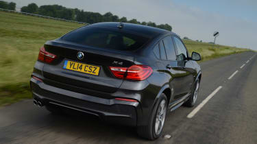 New BMW X4 2014 UK rear
