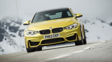 BMW M4 nose