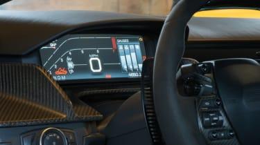 Ford GT Norway road trip - dash