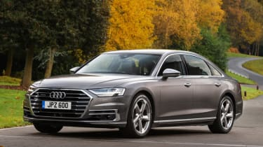 Audi A8 - front static