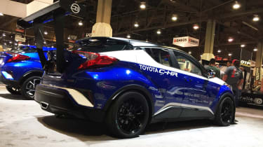 Toyota C-HR R-Tuned  show pic