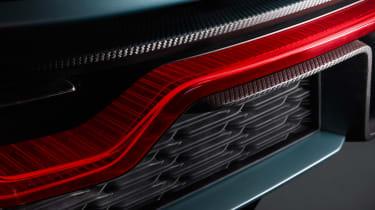 NextEV NIO EP9 electric hypercar - rear detail