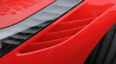 Ferrari 458 Speciale air intakes
