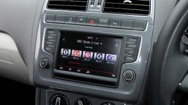 VW Polo - info screen