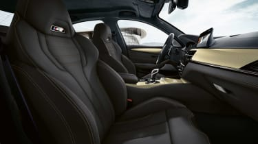 BMW M5 Edition 35 Years - front seats