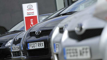 Toyota Approved used cars