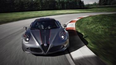 Alfa Romeo 4C front on