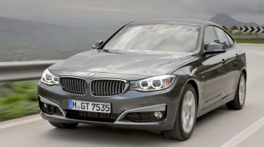 BMW 3 Series GT front tracking