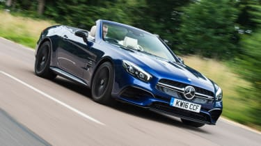 Mercedes-AMG SL 63 2016 - front tracking