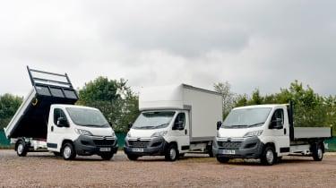 Van header tipper, luton and pick-up