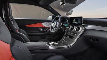 Mercedes-AMG C 63 S - interior