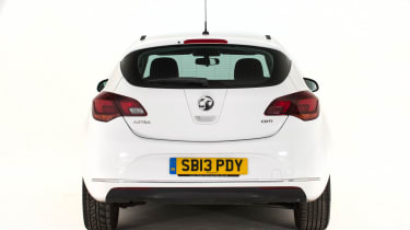 Used Vauxhall Astra - full rear