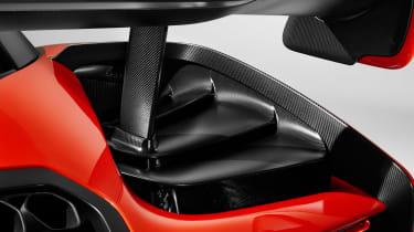 McLaren Senna - rear detail